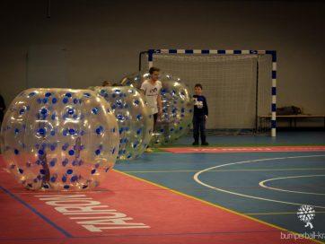 Bumper Ball Kraków Arena z dzieciakami